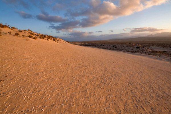 Relief désertique