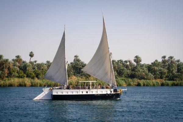 Vogue sur le Nil