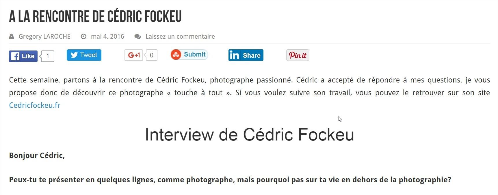 Interview BonPlanPhoto